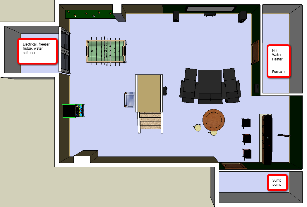 Need Advice On Basement Layout Layouts And Pics Inside