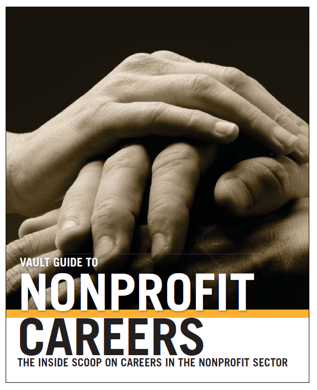 Vault Guide to Nonprofit Careers cover