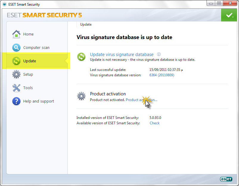 NOD32 Antivirus & ESET Smart Security 2013/10/15,بوابة 2013 09.16.2011-00.31.46.