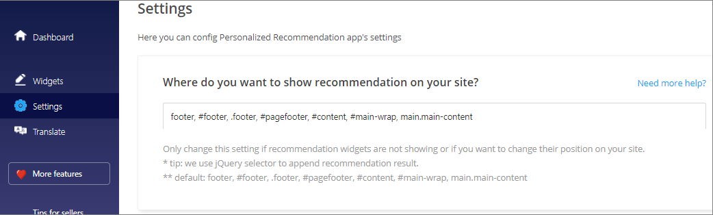 Position personalized recommendation