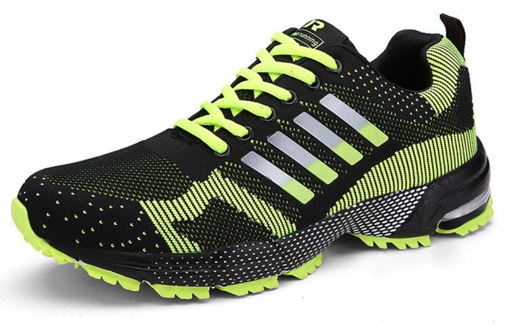 fly weave light breathable sport shoes