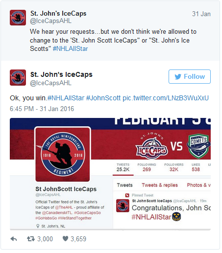 St JohnScott IceCaps tweet