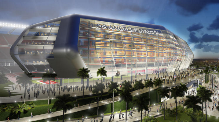 Proposed LA football stadium