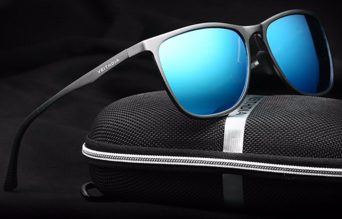 aluminum magnesium retro polarized mirrored sunglasses