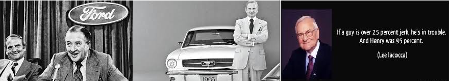 Iacocca and Ford
