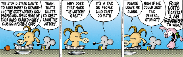 Comic strip lotteries 1