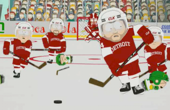 South Park vs Red Wings