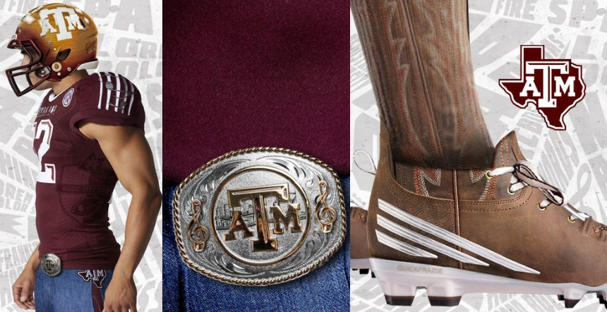 Texas A&M uniforms