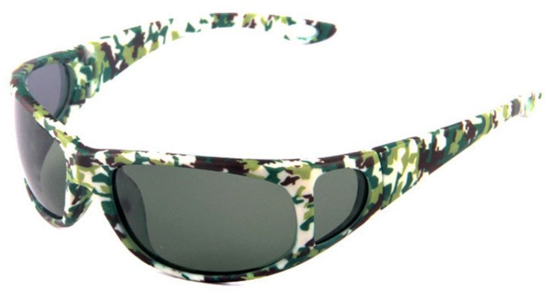 polarized sunglasses with side window