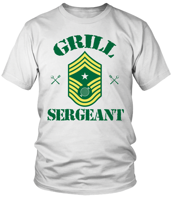 grill sergeant t-shirt women's top sweatshirt tank top