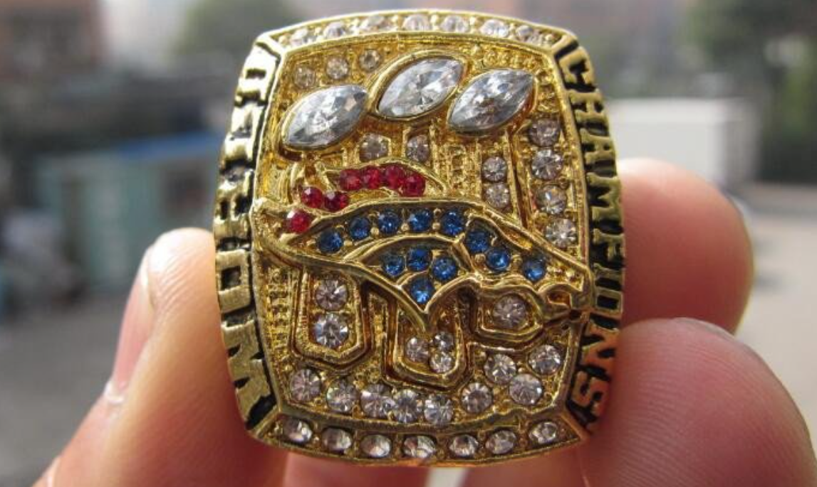 Denver Broncos super bowl ring replica