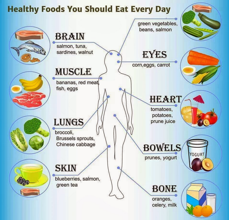 healthy foods you should eat every day