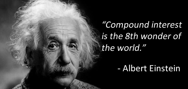 Einstein quote re compound interest