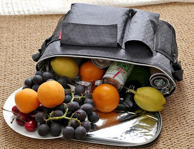 tailgating thermal snack bag