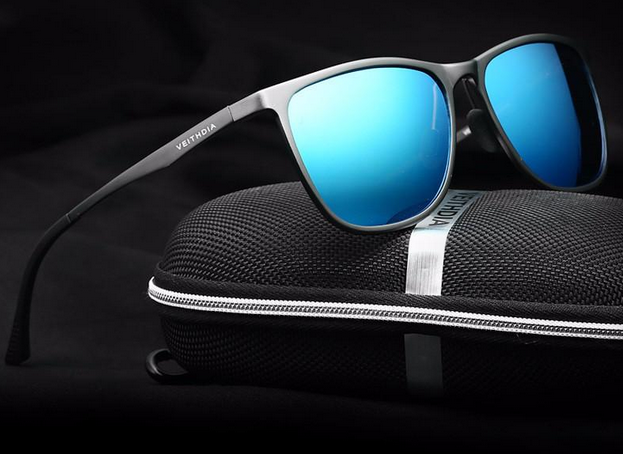 retro cool polarized aluminum magnesium sunglasses