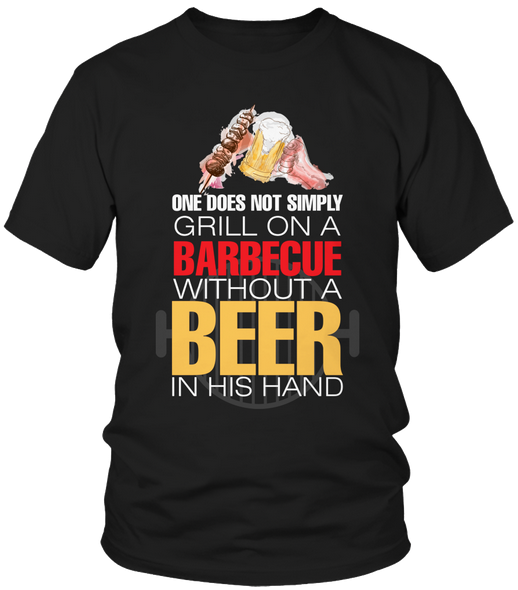 without a beer bb t-shirt