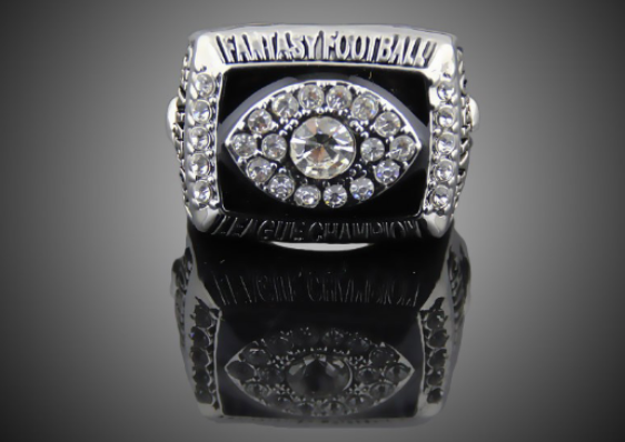 fantasy football championship ring