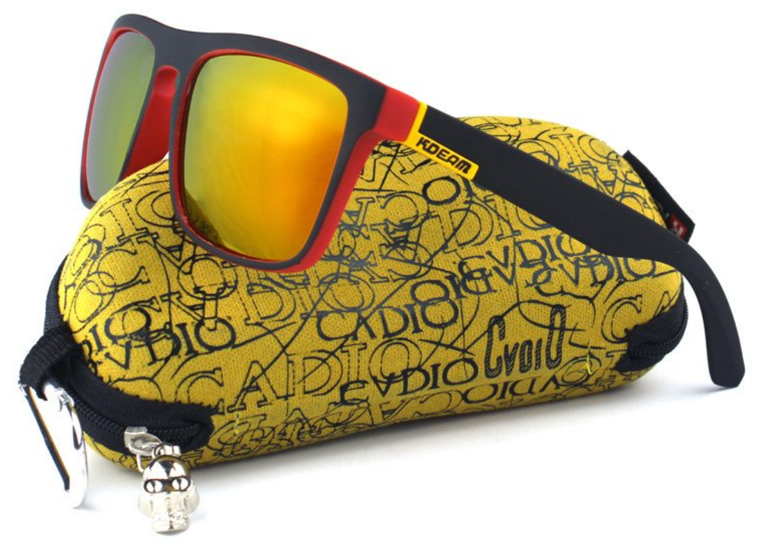polarized mirrored surfing sunglasses