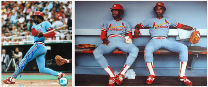 St Louis Cardinals stirrups 1979