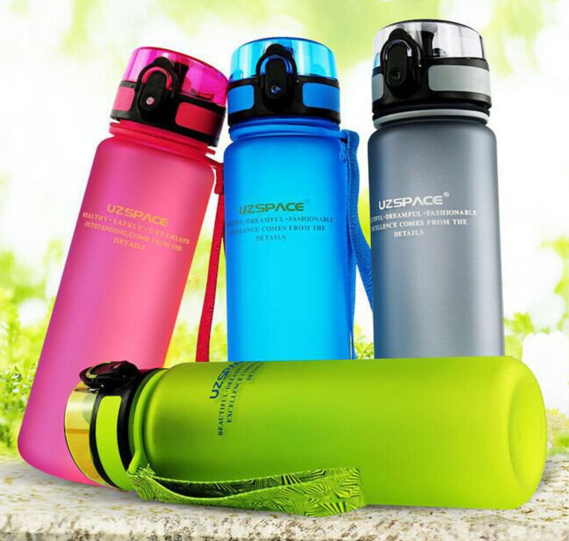 space cup leak-proof spring water bottles