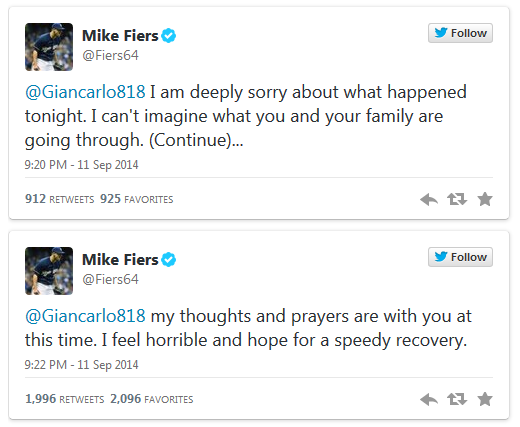 Mike Fier's apology