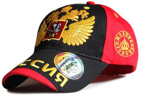 Russian theme baseball cap