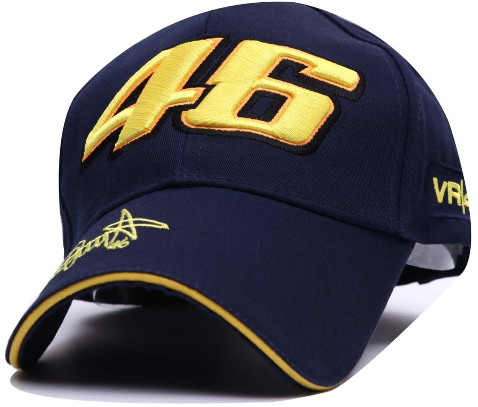 car 46 embroidered racing cap
