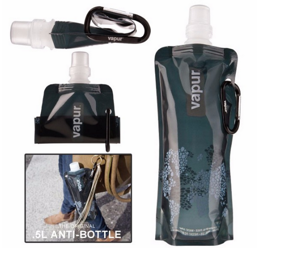 foldable collapsable water bottle bag