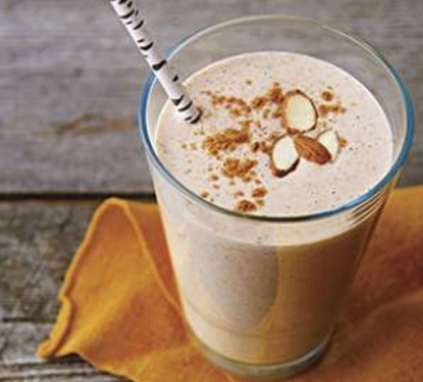 proteinr shake with almond butter