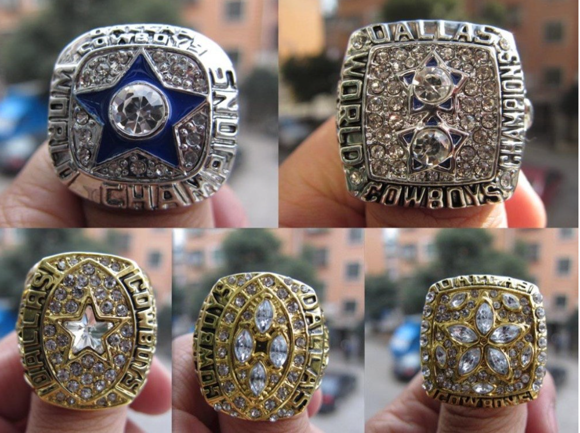 replica dallas cowboy super bowl rings