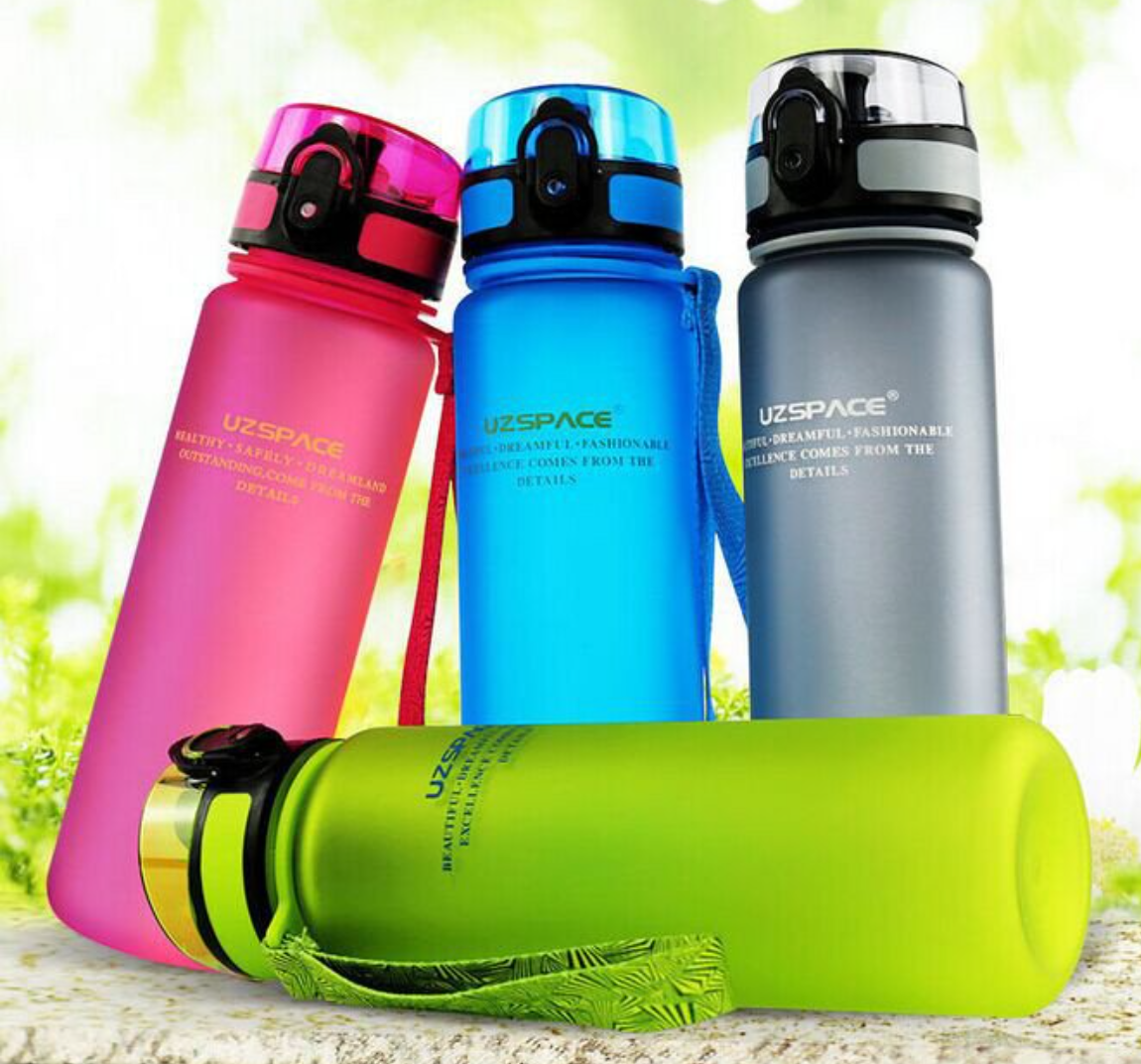 portable space cup leak proof water bottles
