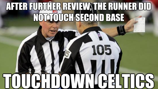 confused refs