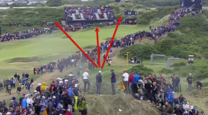 Spieth 13th hole British open