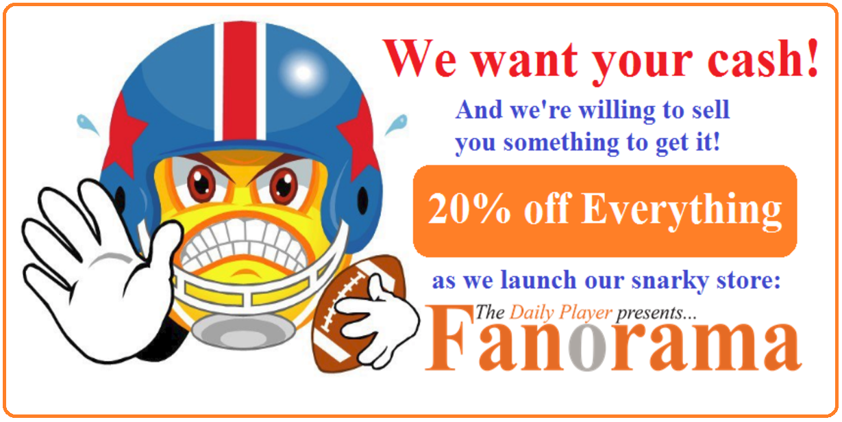 Daily Player Fanorama Store ad