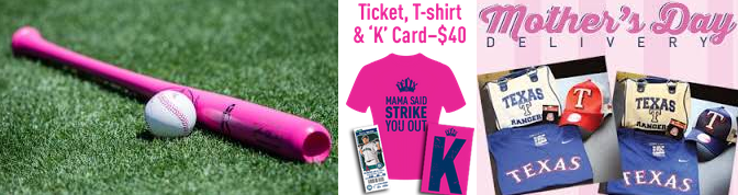 MLB Mother's Day merchandise