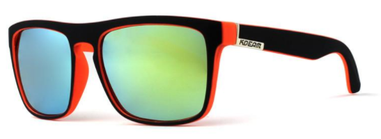 polarized, mirrored, surf-&-sand, beach-ready sunglasses