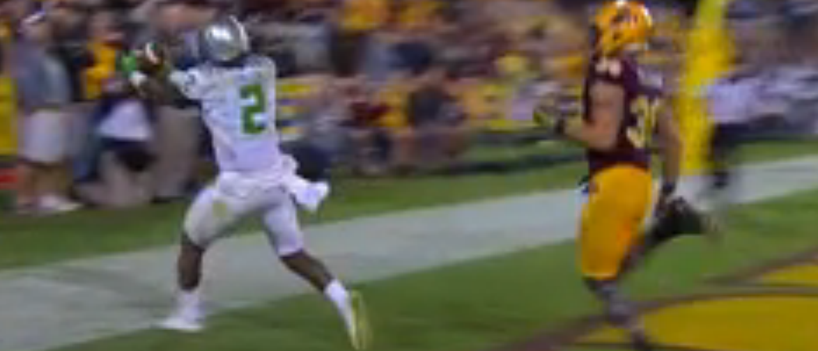 Oregon TD in overtime