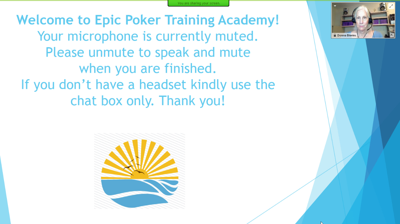 Epic Poker Training Academy Week 5 Video 9