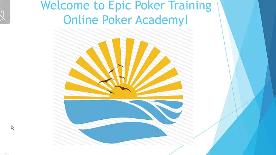 Epic Poker Online Training Academy Week 3 Video 5