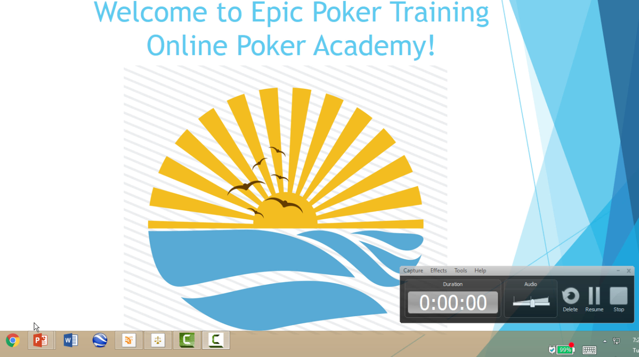Epic Poker Online Training Academy Week 3 Video 6