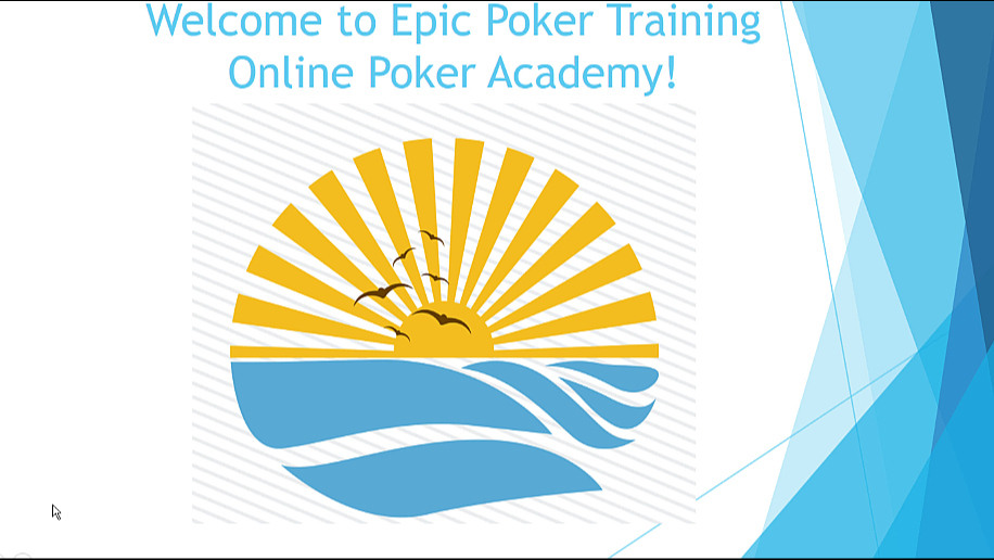 Epic Poker Training Natasha Mercier Shallow Stack Part 2