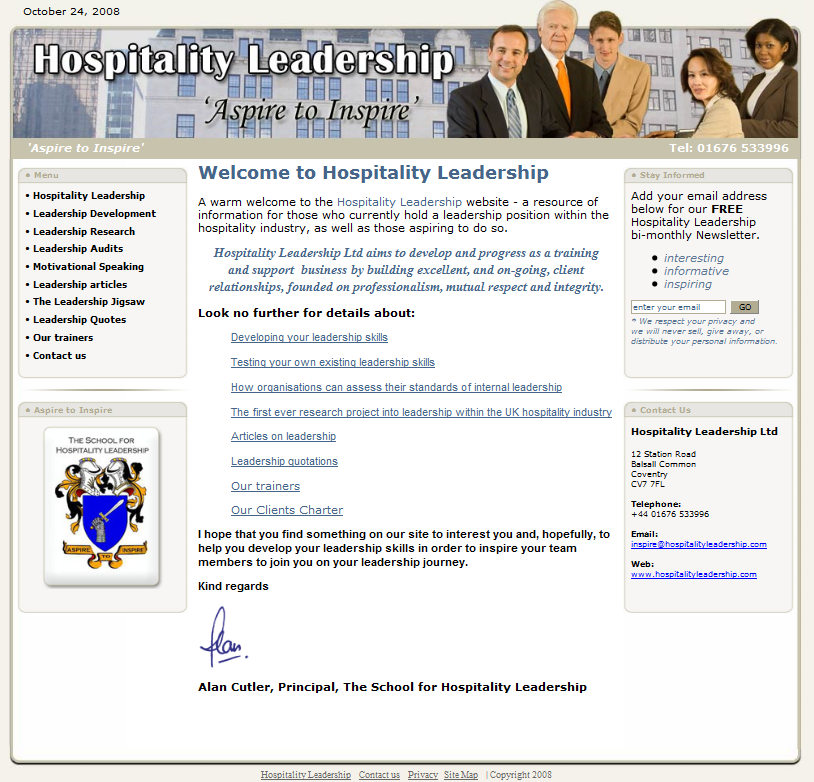 The School for Hospitality Leadership