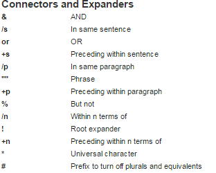 connecter and expanders
