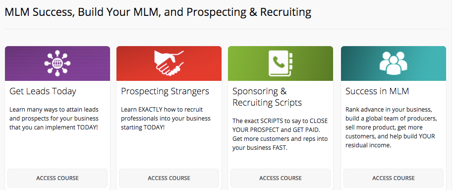 MLM Success, Build Your MLM, and Prospecting and Recruiting - MLSP