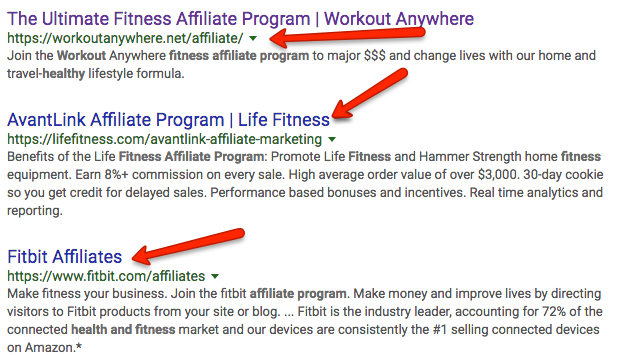 How To Search For Affiliate Programs To Promote Online
