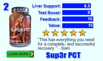 Number 2 Ranked Best PCT Supplement Sup3r Pct