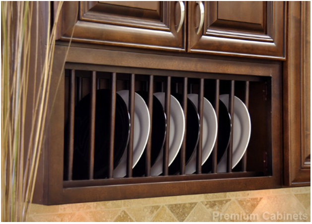 PLATE RACKS TO YOUR KITCHEN CABINETS