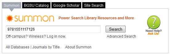 Summon search