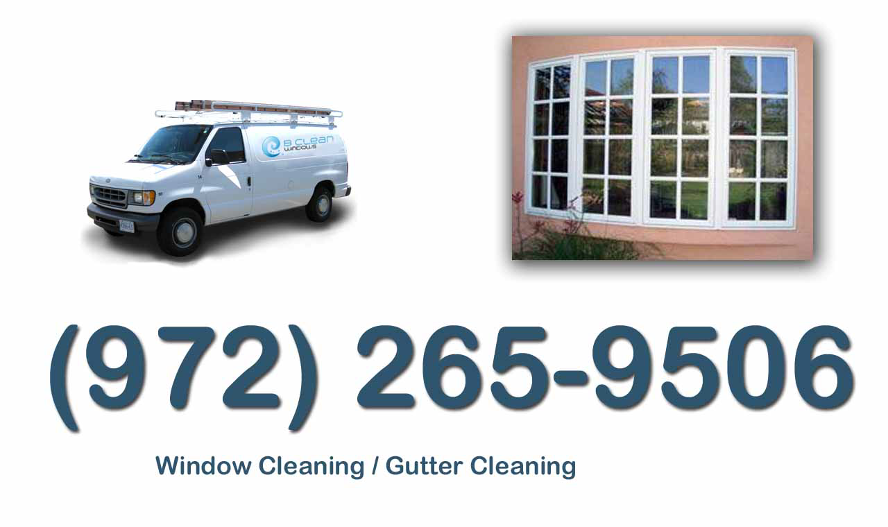 Call B Clean Windows Today