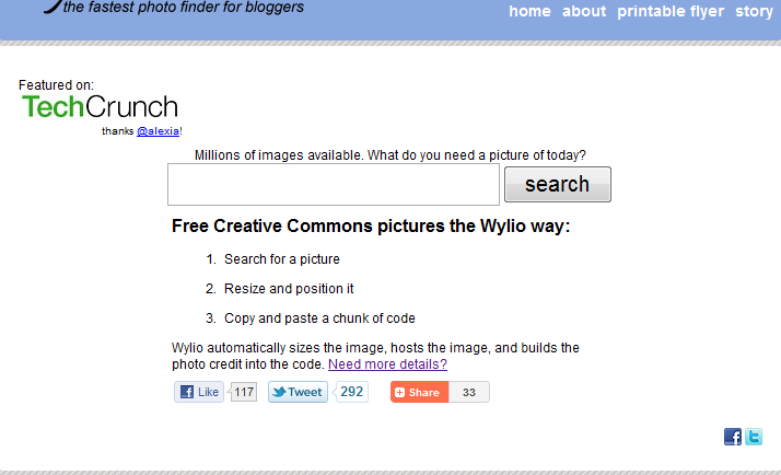 Free Creative Commons pictures the Wylio way